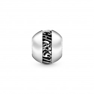 "Charm Pandora 798607C00 de plata ""feliz navidad"""