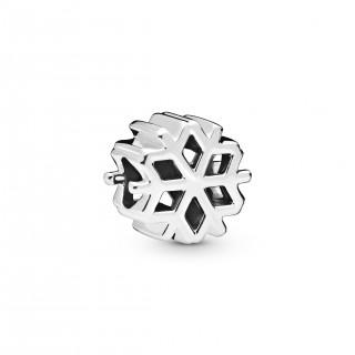 Charm Pandora 798469C00 de prata em forma de floco de neve