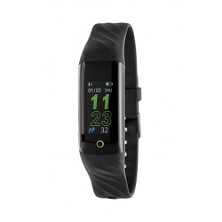 Reloj Marea B57003/1 Smart Actividad con correa e silicona negra, 3 ATM
