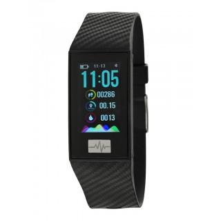 Reloj Marea B57004/1 Smart Actividad con correa de silicona negra, 3 ATM