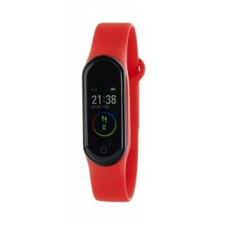 Relógio Marea B57006/1 Smart Actividad com pulseira de silicone vermelha, 3 ATM