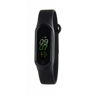 Relógio Marea B57006/2 Smart Actividad com pulseira de silicone preto, 3 ATM
