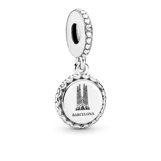 Charm Pandora 792018_E007 colgante de plata en forma de la sagrada familia