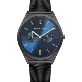 Relógio em aço Bering Azul 17140-227 Unisex