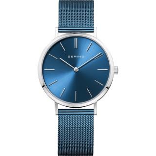 Relógio em aço Bering Azul 14134-308 Para Mulher