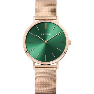 Relógio em aço Bering Verde 14134-368 Para Mulher