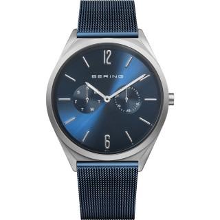 Relógio em aço Bering Azul 17140-307 Unisex