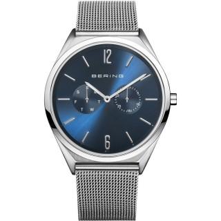 Relógio em aço Bering Azul 17140-007 Unisex