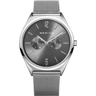 Relógio em aço Bering Cinza 17140-009 Unisex