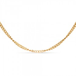 Fio Forçado Diamantado Em Ouro Amarelo 40 Cm em Oro Vivo
