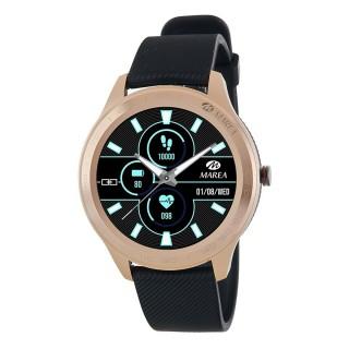 Reloj Marea de Silicona Negro y Rosa B60001/4 Unisex