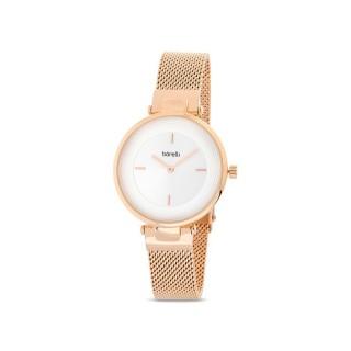 Reloj de acero Borelli Elegant rosé para mujer