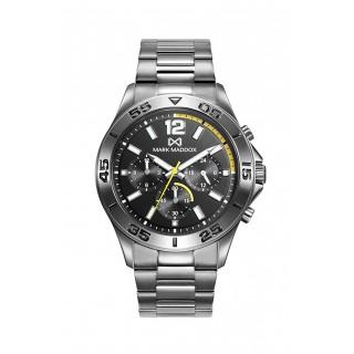 Reloj Mark Maddox de Acero Gris HM0114-55 Para Hombre