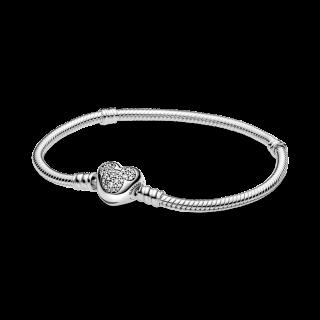 Pulseira Pandora 599299c01-19 em prata Mickee Tamaño 19
