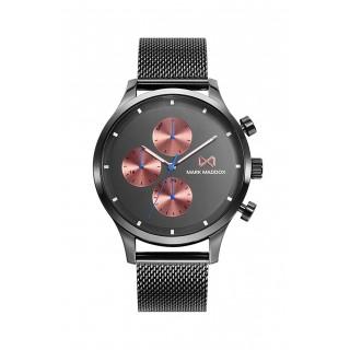 Relógio em aço Preto Mark Maddox Hm7142-56 Para Homem