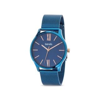 Reloj de acero Borelli Infinity azul para hombre