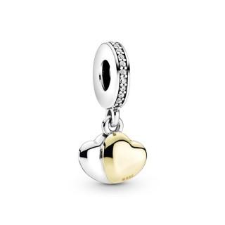 Charm en Prata Pandora Shine coração 799162C01