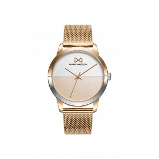 Reloj Mark Maddox de Acero Dorado MM7142-20 Para Mujer
