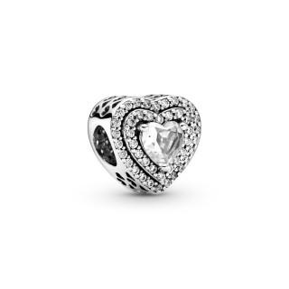 Charm Pandora en Prata coração 799218C01