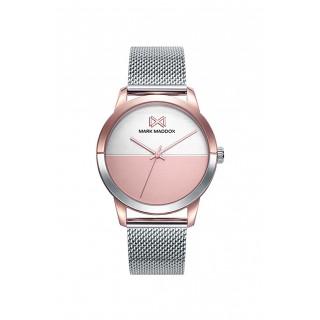 Reloj Mark Maddox de Acero Plata MM7142-90 Para Mujer