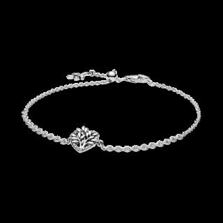 Pulseira Pandora 599292c01-20 em prata Coração árvore De La Vida
