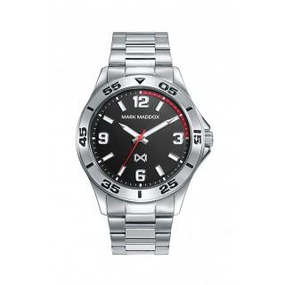 Reloj Mark Maddox de Acero Plata HM0115-55 Para Hombre