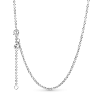 Colar Pandora 399260c00-60 em prata com Links T-60