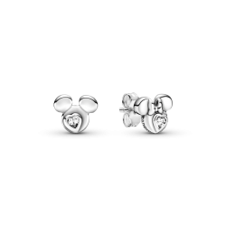 Pendientes Pandora de Plata 299258C01 Mickey & Minnie