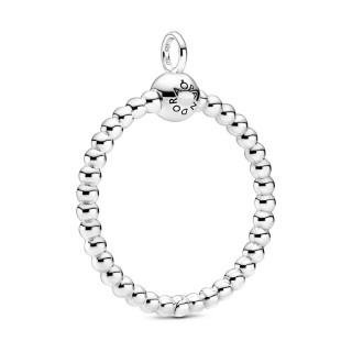 "Colgante de plata Pandora ""O"" mediano 399106C00"