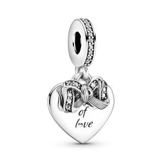 Charm Pandora en Prata Lazoe coração 799221C01