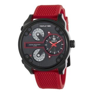 Reloj Marea de Silicona Rojo B58005/2 Unisex