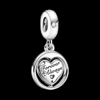 Charm Pandora 799266c01 em prata com Pendente De Alma Gemela
