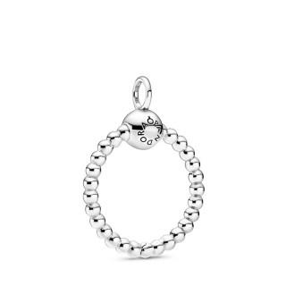"""Colgante de plata Pandora """"o"""" pequeño 399077C00"""