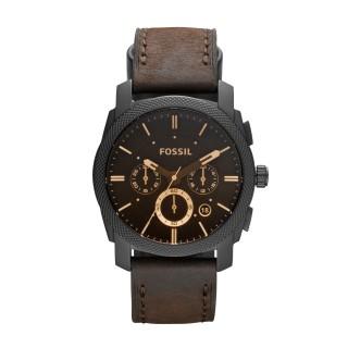 Relógio Fossil Cronómetro Piel Fs4656ie Para Homem