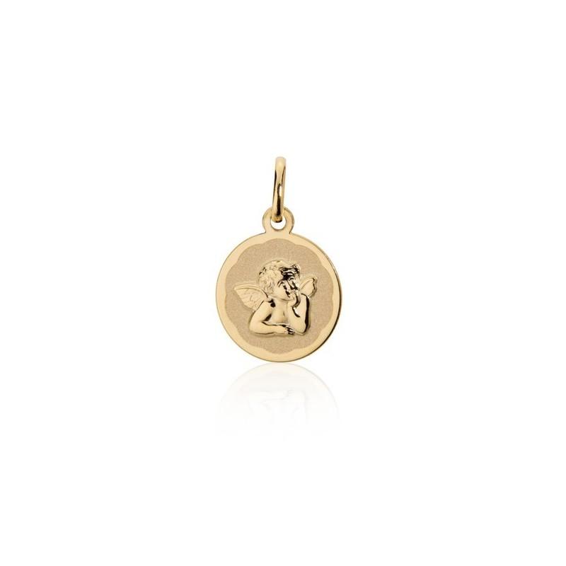 Pendente Medalha Anjo Da Guarda