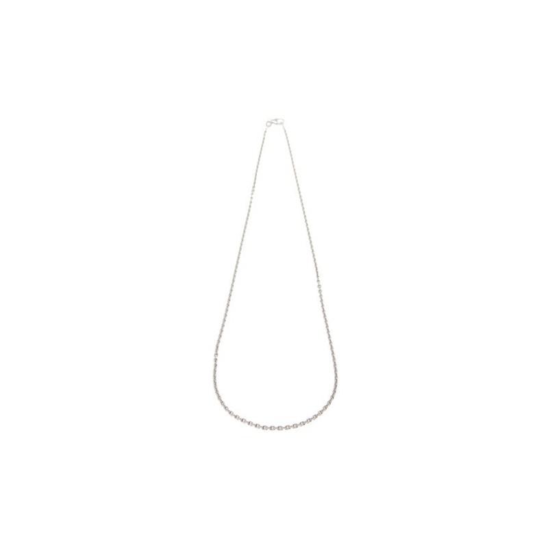 Cadena Forzada Diamantada 45 cm