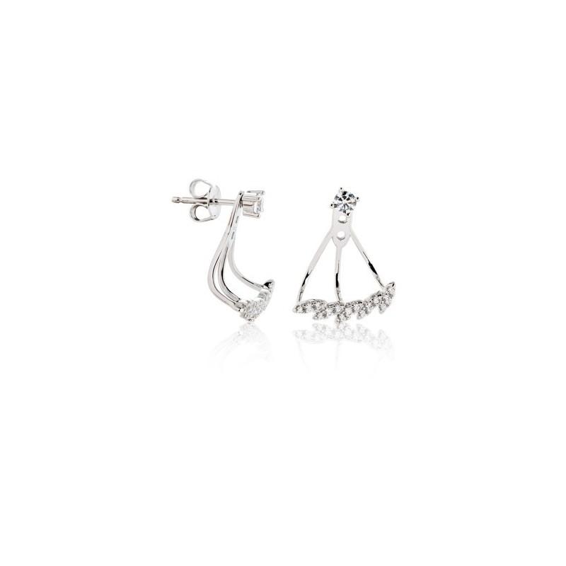 Brincos Silver Fashion