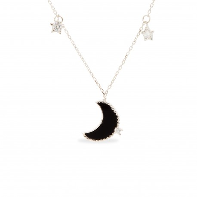 Colar Lua e Estrelas