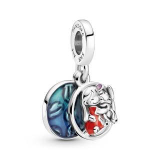 Charm De Plata Pandora Lilo & Stitch