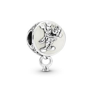 Charm De Plata Pandora Mickey&minnie