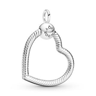 Colgante de plata Pandora 399384C00 con corazón